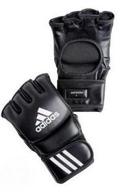 Перчатки тренировочные Adidas ММА/Combat черные - L