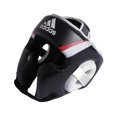 Шлем боксерский Adidas Training черно-белый