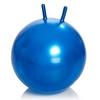 Мяч для фитнеса (фитбол) с рожками 65 см Profiball синий - фото 1