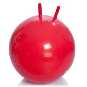 Мяч для фитнеса (фитбол) с рожками 65 см Profiball красный