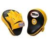 Лапы боксерские Twins PML-10 желтые с черным - фото 1