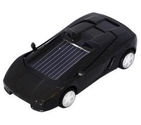 Машинка на солнечной батарее Solar Ламборджини черная