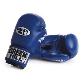 Фото 1 к товару Перчатки боксерские Green Hill Tiger синие