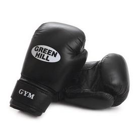 Перчатки боксерские Green Hill Gym черные