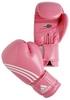Перчатки боксерские Adidas Box-Fit розово-белые - фото 1