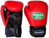Перчатки боксерские Green Hill Hamed красные - фото 1