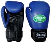 Перчатки боксерские Green Hill Hamed синие - фото 1