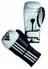 Перчатки боксерские Adidas Adistar бело-черные - фото 1