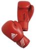 Перчатки боксерские Adidas AIBA красные - фото 1