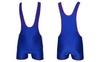 Трико борцовское мужское двухстороннее Combat Budo сине-красное - фото 1