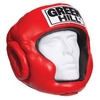 Шлем боксерский Green Hill Club красный - фото 1