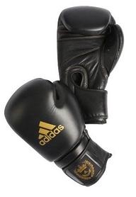 Фото 1 к товару Перчатки боксерские Adidas Adistar черно-золотые