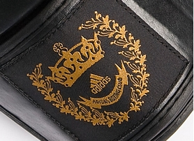 Фото 2 к товару Перчатки боксерские Adidas Adistar черно-золотые