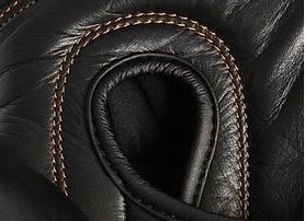 Фото 4 к товару Перчатки боксерские Adidas Adistar черно-золотые