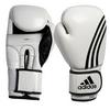 Перчатки боксерские Adidas Box-Fit бело-черные - фото 1