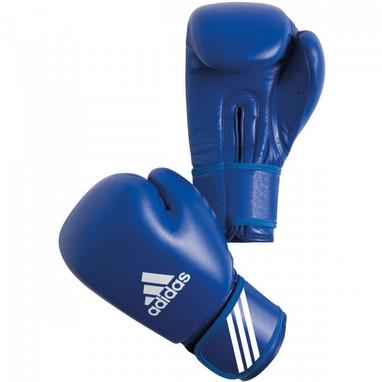 Перчатки боксерские Adidas AIBA синие