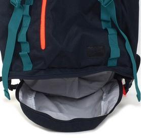 Фото 5 к товару Рюкзак городской Nike Net Skills Rucksack 2.0 черно-зеленый