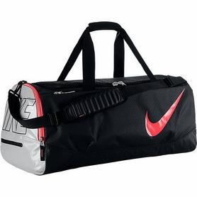 Фото 1 к товару Сумка спортивная Nike Court Tech Duffle черно-розовая