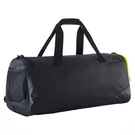 Фото 2 к товару Сумка спортивная Nike Court Tech Duffle черно-салатовая