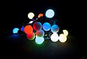 Фото 2 к товару Гирлянда многоцветная Luca Lighting 2,4 м