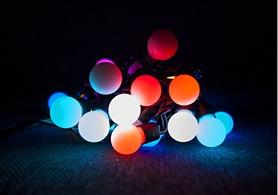 Фото 3 к товару Гирлянда многоцветная Luca Lighting 2,4 м