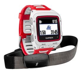 Часы мультиспортивные с кардиодатчиком Garmin Forerunner 920XT Bundle White & Red