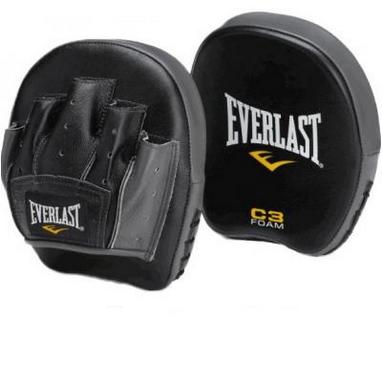 Лапы боксерские Everlast C3 Precision Punch Mitts