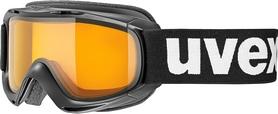 Маска горнолыжная детская Uvex slider черная