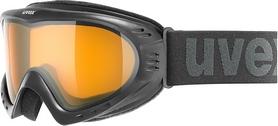 Маска горнолыжная Uvex cevron черная