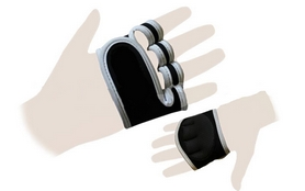 Перчатки (накладки) для поднятия веса ZLT ZG-3617 - M