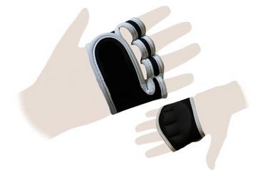 Перчатки (накладки) для поднятия веса ZLT ZG-3617