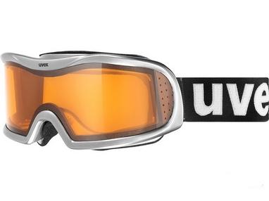 Маска горнолыжная Uvex Vision Optic l серо-черная