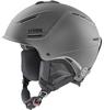 Шлем горнолыжный Uvex 1 plus стальной матовый - фото 1