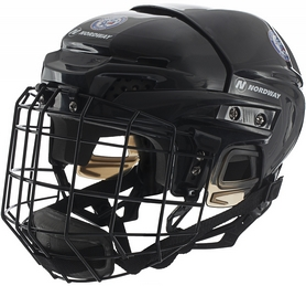Фото 1 к товару Шлем детский хоккейный Nordway JR Hockey helmet черный