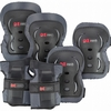 Защита для катания (комплект) Reaction 3-pack protective set черная - фото 1