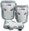 Защита для катания детская (комплект) Reaction Kid's 3-Pack Protective Set бело-серебристая - фото 1