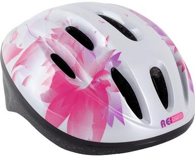 Велошлем регулируемый Reaction белый