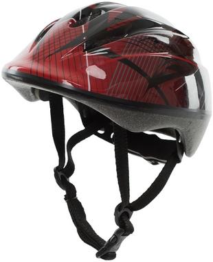 Велошлем регулируемый Reaction Kid's Helmet красно-черный