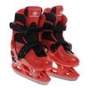 Коньки раздвижные детские Nordway CLICK-BOY Kid's adjustable ice skates красные - фото 1