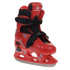 Фото 2 к товару Коньки раздвижные детские Nordway CLICK-BOY Kid's adjustable ice skates красные