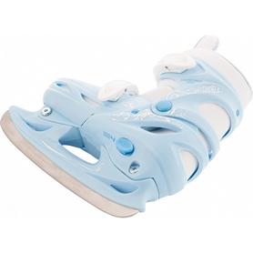 Фото 2 к товару Коньки раздвижные детские Nordway CLICK-GIRL Kid's adjustable ice skates голубые