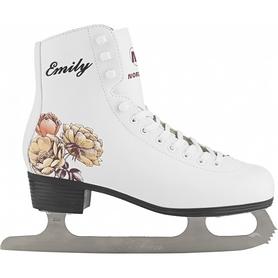 Фото 1 к товару Коньки фигурные женские Nordway EMILY Figure ice skates белые