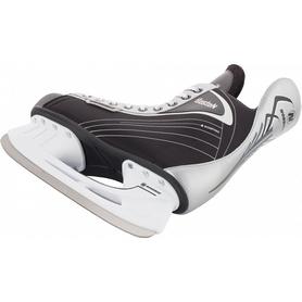 Фото 2 к товару Коньки хоккейные детские Nordway BOSTON JR Hockey ice skates черный-серые