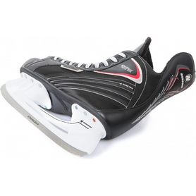 Фото 2 к товару Коньки хоккейные Nordway MONTREAL Hockey ice skates черно-белые