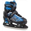 Коньки раздвижные детские Nordway SLIDE-BOY Kid's adjustable ice skates черно-синие - фото 1
