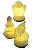 Комплект из 3-х декоративных фигурок Ангел/Елка/Санта Luca Lighting - фото 1