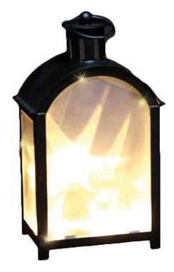 Фонарь декоративный Luca Lighting 11х7,5х20 см черный