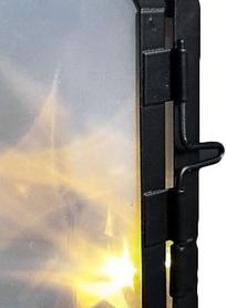 Фото 3 к товару Фонарь декоративный Luca Lighting 11х7,5х20 см черный