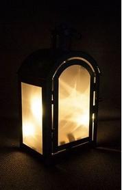 Фото 4 к товару Фонарь декоративный Luca Lighting 11х7,5х20 см черный