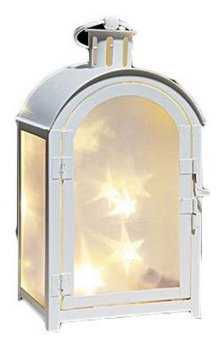 Фонарь декоративный Luca Lighting 11х7,5х20 см белый